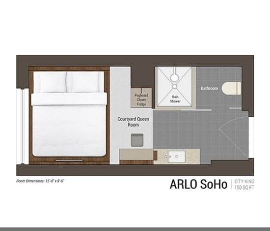 City King Floor Plan