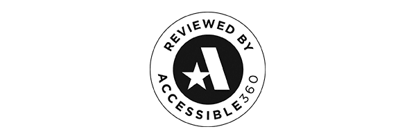 Reviewed by Accessibility 360