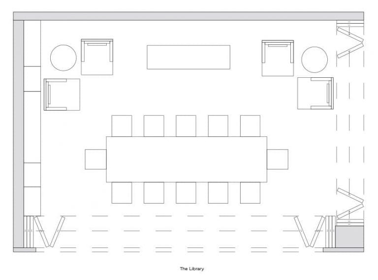 Soho Library floorplan
