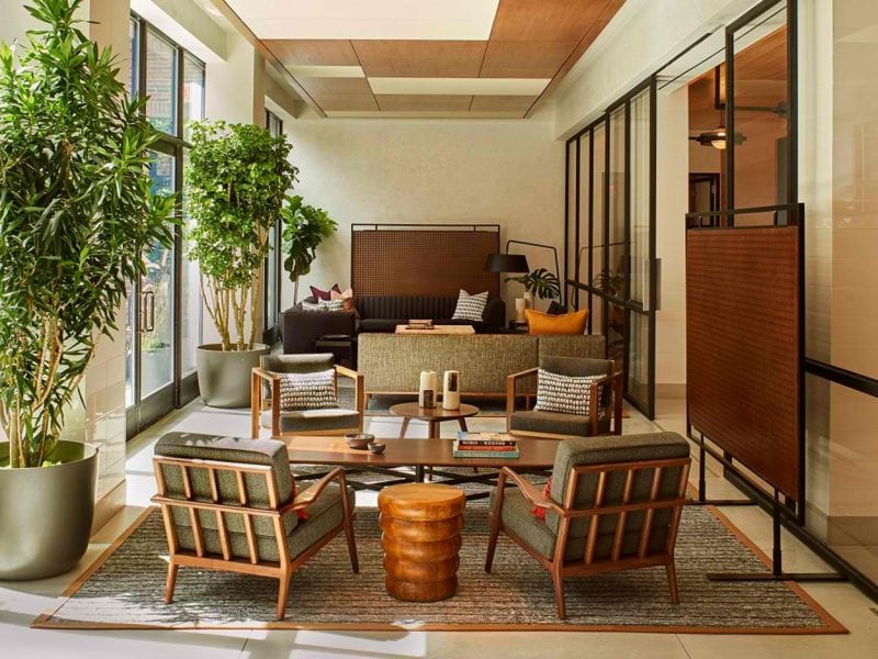SoHo Living space in sitting area